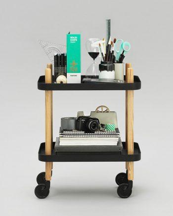 ブロックトロリーテーブル(ブラック) W500 D350 H640mm¥83,000ノーマンコペンハーゲン(MUSE JAPAN)