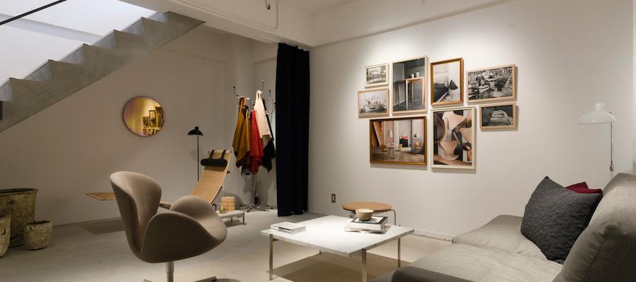 デンマークの家具−2−アジア初の直営店、「フリッツ・ハンセン 青山本店」