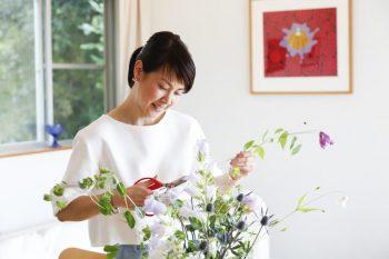 「たべラボ」主宰の山之口悦子さん。食と体と環境に関するワークショップを開催。http://tabelab.jp