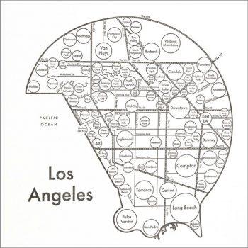 LETTER PRESS PRINT LOS ANGELES W203 H203mm 各¥3,200 Archie's Press(CIRCLE & LINE)