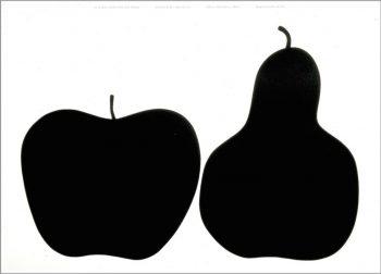 Tre la mela e la pera W1120 H780mm ¥31,000 DANESE(クワノトレーディング)