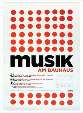 Musik am Bauhaus2 W530 H730mm ¥12,000 attract