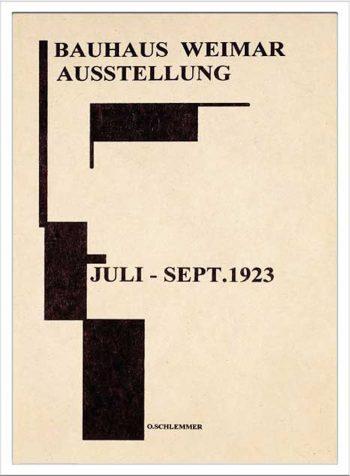 Bauhaus Weimar Ausstellung 1923 W530 H730mm ¥12,000 attract