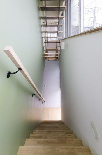 2階から見下ろす。