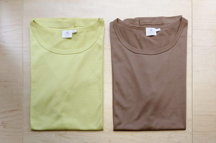 16AWは落ち着いたトーンのカラーがお目見え。新色のTシャツでいち早く秋の気分を取り入れてみるのもおすすめだ。