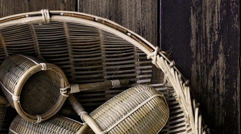 竹の道具 −1−堅牢で美しい暮らしの道具