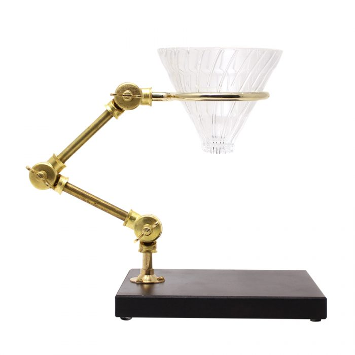 FLEXIBLE POUR-OVER COFFEE STAND W177 D136 H270mm ¥29,000 The Tastemakers & Co.