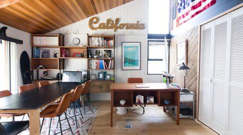 海を愛する建築家の自邸海まで3分。カリフォルニアスタイルのヴィンテージハウス