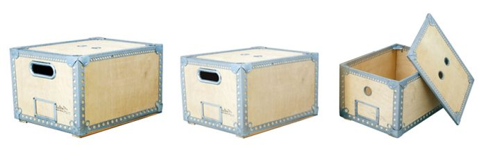 ウッデンボックスL W450 D360 H275mm ¥5,600 ウッデンボックスM W400 D315 H240mm ¥4,600 ウッデンボックスS W345 D255 H210mm ¥3,800 以上DULTON
