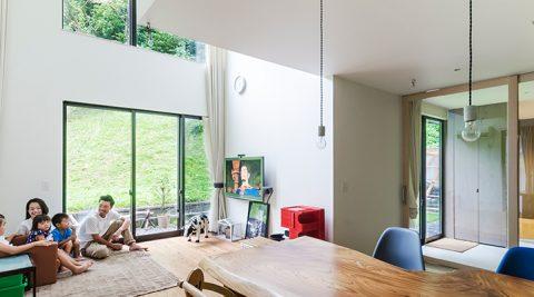 豊かな自然を満喫北鎌倉の自然環境を活かしきった家づくり