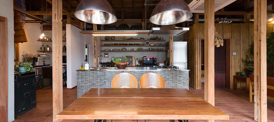 鎌倉の平屋をリノベーション日本家屋にアウトドアと北欧のテイストをミックス