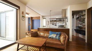 ヘーベルハウスの実例見せる収納とビンテージ家具インテリアを楽しむ暮らし
