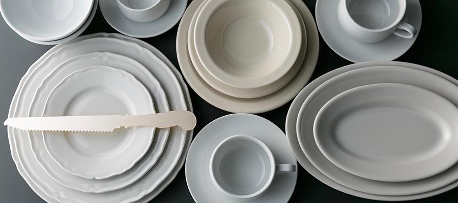 業務用食器 −1−世界中のシェフを魅了するタフでシンプルな業務用食器