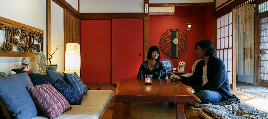 葉山の週末住宅外国人が暮らしていた古民家を豊かな感性で住みこなす