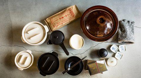 中川政七商店の冬支度 -2-冬の食卓を彩るうつわや土鍋