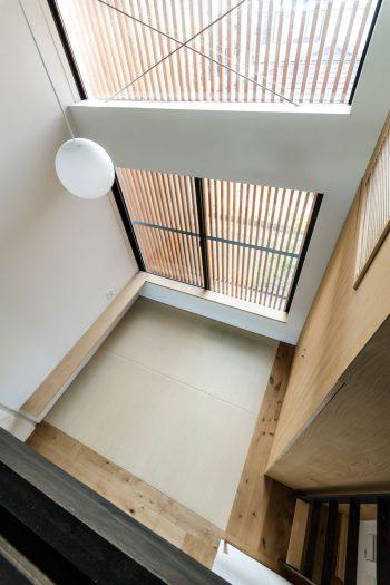 和室は娘さんが泊まれるスペースとして考えていたが、この家が気に入り同居することになりそうという。