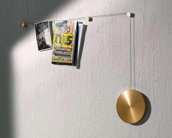 マイスポット(ゴールド) ウエイト φ150mm ワイヤー 1160mm ¥26,000 MENU (Generate Design)