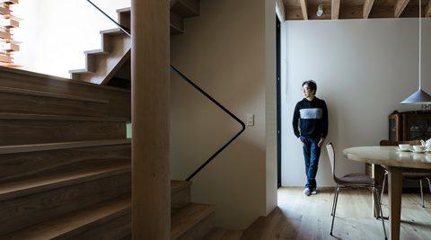 ぜいたくな空気の流れる家光と空間の変化がつくり出す多様な空間