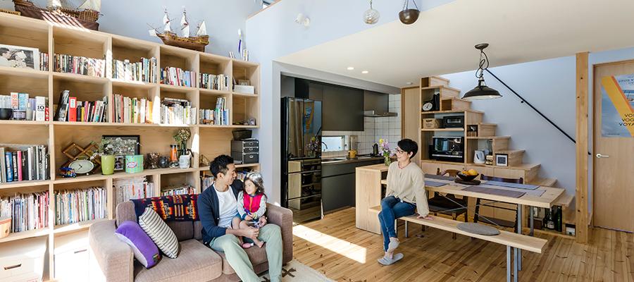 お気に入りの絵が似合う家に絵を中心に心地の良いハーモニーを奏でる空間