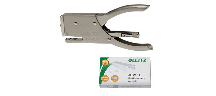 Juwel/staples x 2000(4mmの針300本付属) W145 D16 H70mm ¥4,320 LEITZ(GENERAL VIEW)