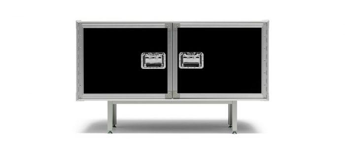 トータル フライトケース W1200 D450 H720mm ¥448,000 DIESEL LIVING (ヤマギワオンラインストア)