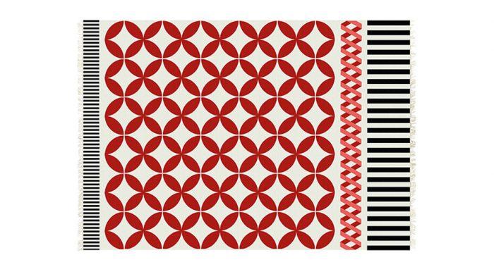 キリムラグ カターニア 1500×2000mm ¥67,000 GANDIA BLASCO(SEMPRE HOME)