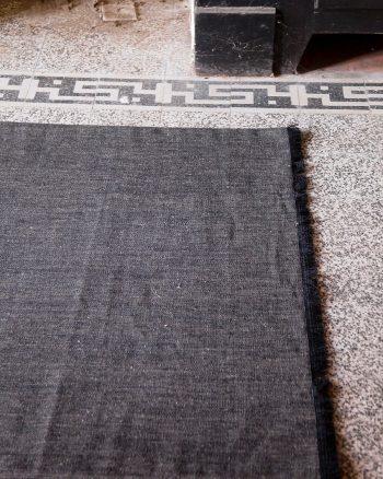 ポートベロー(ブラック) 1200✕1800mm ¥34,000 LIBECO(TLBhome)