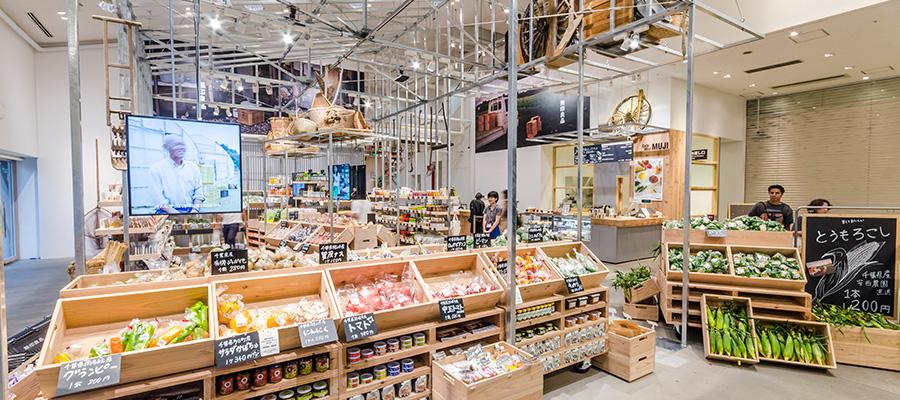 生産者とつながる青果店—2−青果売り場を導入した無印良品 有楽町店