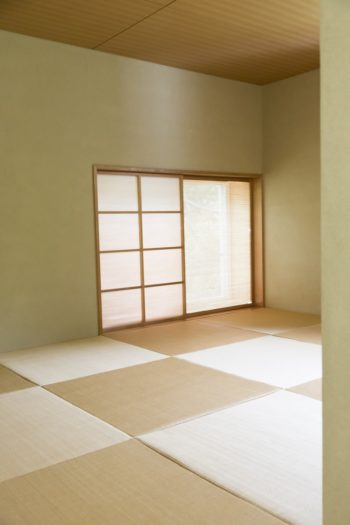 和室はリクエストして設けた。ゲストの宿泊にも便利。
