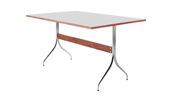 ネルソンスワッググループワークテーブル W1372 D915 H747mm ¥243,000 Herman Miller Japan