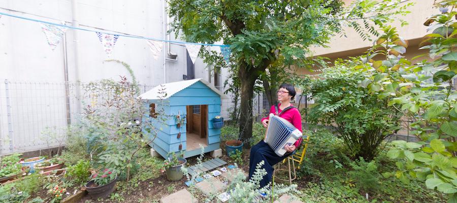 庭と彩りのある暮らし古く懐かしいものをDIYで愛おしむ