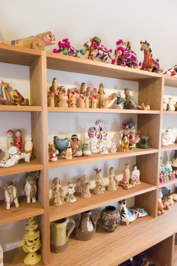 古道具屋やボロ市などで見つけては買うフォークアート。メキシコ、ペルーなどのものも。