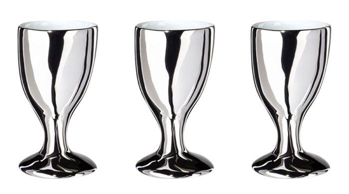 のどカラカラのグラス プラチナ φ70 H120mm 各9,000 Tse&Tse associees