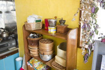 調理器具も昔から愛用しているものばかり。