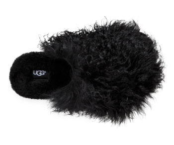 フラッフ ママ モンゴリアン クロッグ(ブラック) ¥26,000 UGG® (Deckers Japan)