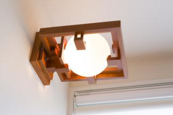 好きな建築家である、フランク・ロイド・ライトのロビー邸のための照明。