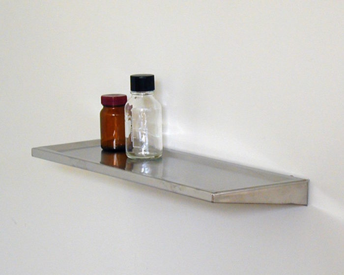 STAINLESS STEEL SHELF WITH RAISED EDGE W457 D152mm ¥17,000 P.F.S. PARTS CENTER