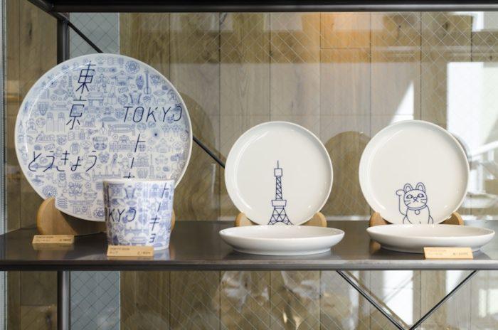 東京タワーや相撲など、東京らしさを感じる絵柄を施した「TOKYO ICON」。