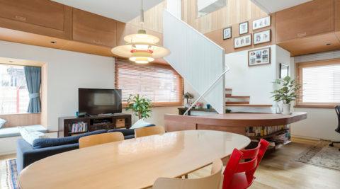 アメリカンスタイルの家づくり明るく開放的なスペースで家族とゆったり暮らす