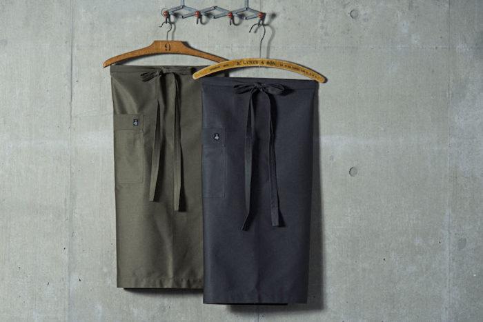 ギャルソン(オリーブ・グレー) W950 L700mm 各¥6,500 エル トランスバル (ザッカワークス)
