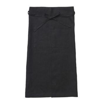リネンギャルソンエプロン (ブラック) W920 L750mm ¥3,800 fog linen work