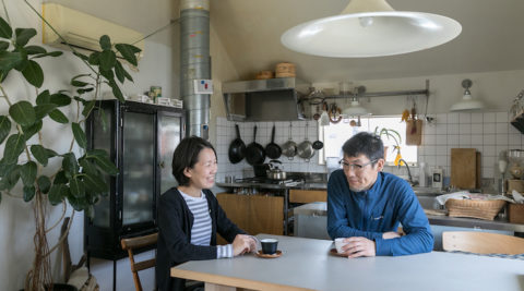 5坪の土地でできること建築家と家具デザイナーの潔い住まい