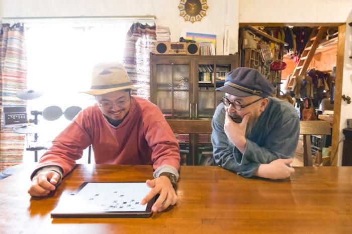 髙木さんとHandiHouse project  http://handihouse-project.jp/about/ の坂田さん。『妄想から打ち上げまで』の合言葉が見事にはまった。