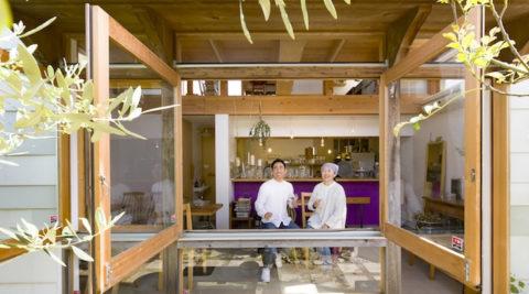食べることが好き、人が好き夢は広がる小さなカフェハウス