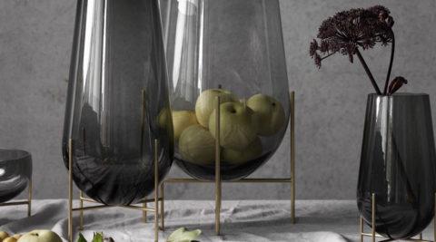 北欧のガラスくすんだ色合いが美しいノルディックカラーのガラス