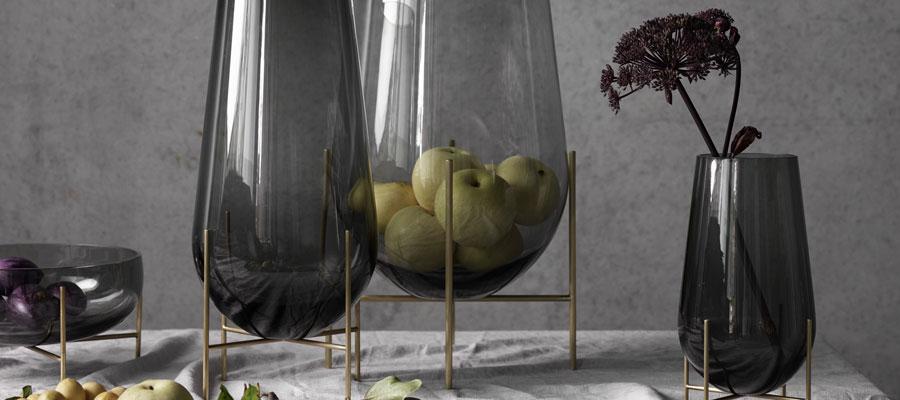 北欧のガラス くすんだ色合いが美しい ノルディックカラーのガラス