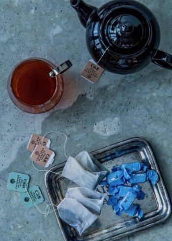 ティータイムのお供にぴったりな塩キャラメルトフィー(1箱130g)¥1,200  カートライト アンド バトラー (プリムス株式会社)