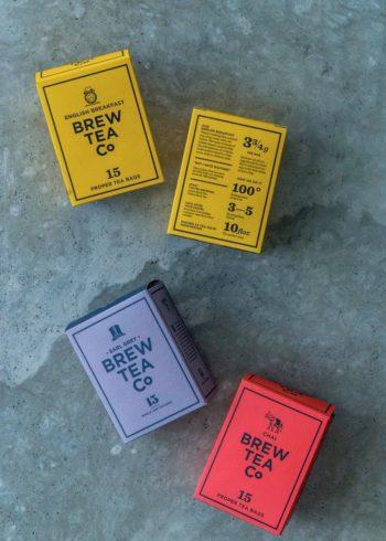 イングリッシュ ブレックファースト 15袋入  ¥1,100 アール グレイ 15袋入  ¥1,100 チャイ 15袋入  ¥1,100 以上ブリュー ティー カンパニー