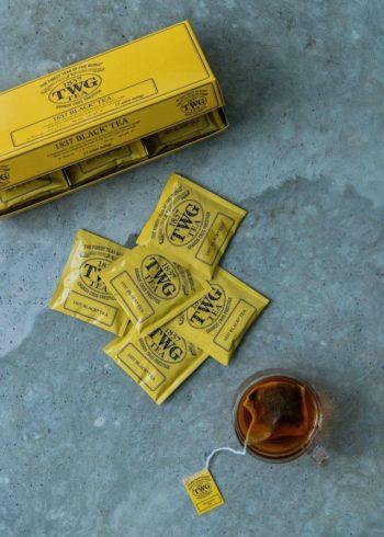 1837 Black Tea(コットン ティーバッグ)15袋入 ¥2,200 TWG Tea(東急グルメフロント)