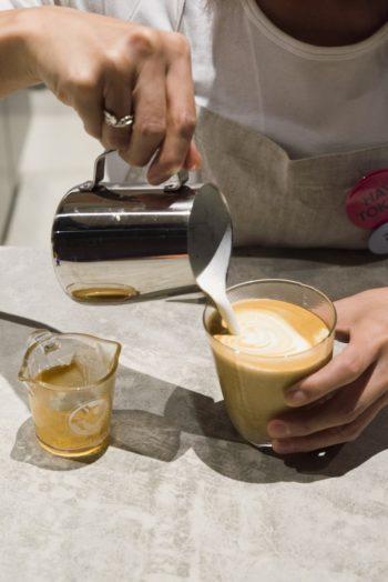 ノルウェーの首都オスロに本店を持つフグレンのコーヒーが楽しめる。